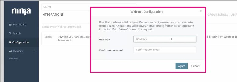 Introduction on how to Integrate NinjaRMM with Webroot